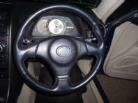 1999 - 2004 LEXUS IS200 IS300 LEATHER STEERING WHEEL WITH AIRBAG FREE UK POST